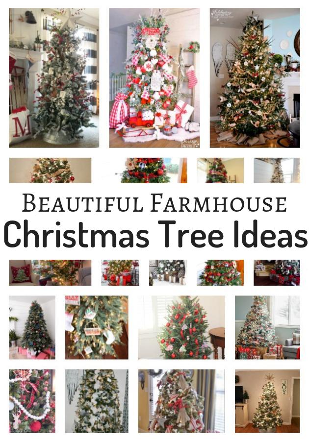 Farmhouse Christmas Tree Decorating Ideas To Inspire You