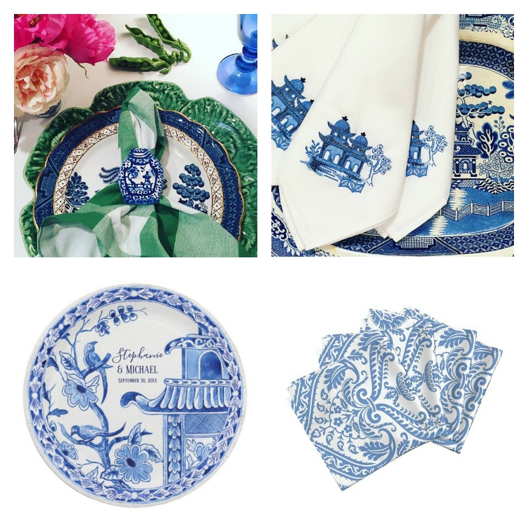 chinoiserie tablesetting