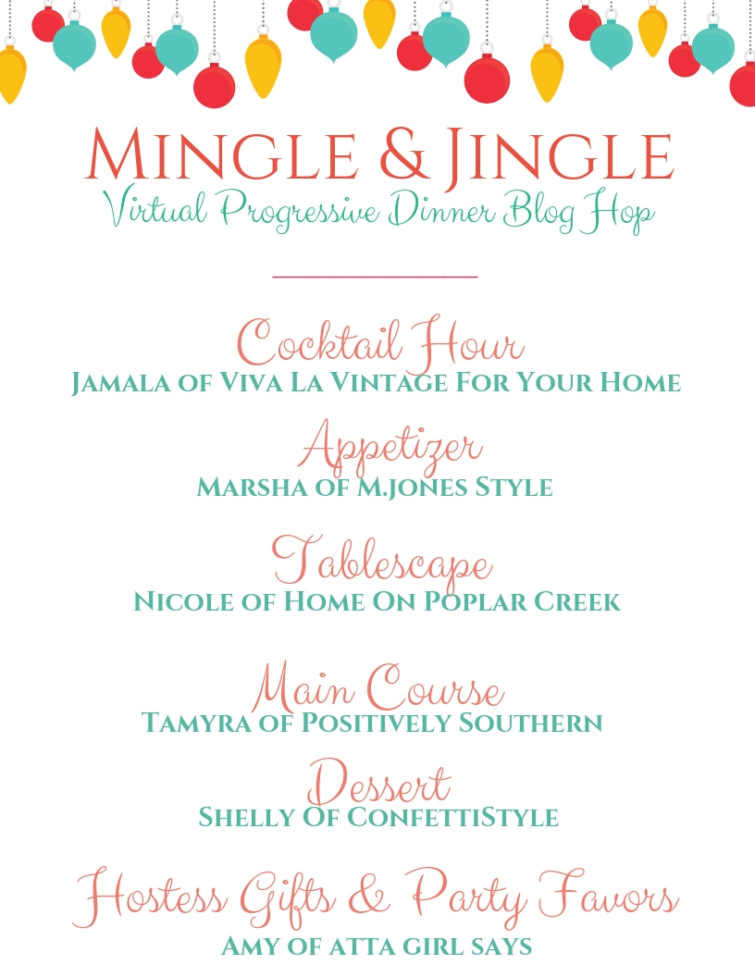 Mingle & Jingle Progressive Dinner Blog Hop