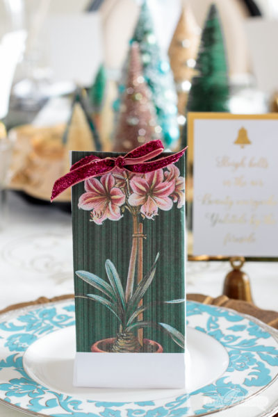 Forced Bulb Christmas Party Favors & Hostess Gifts