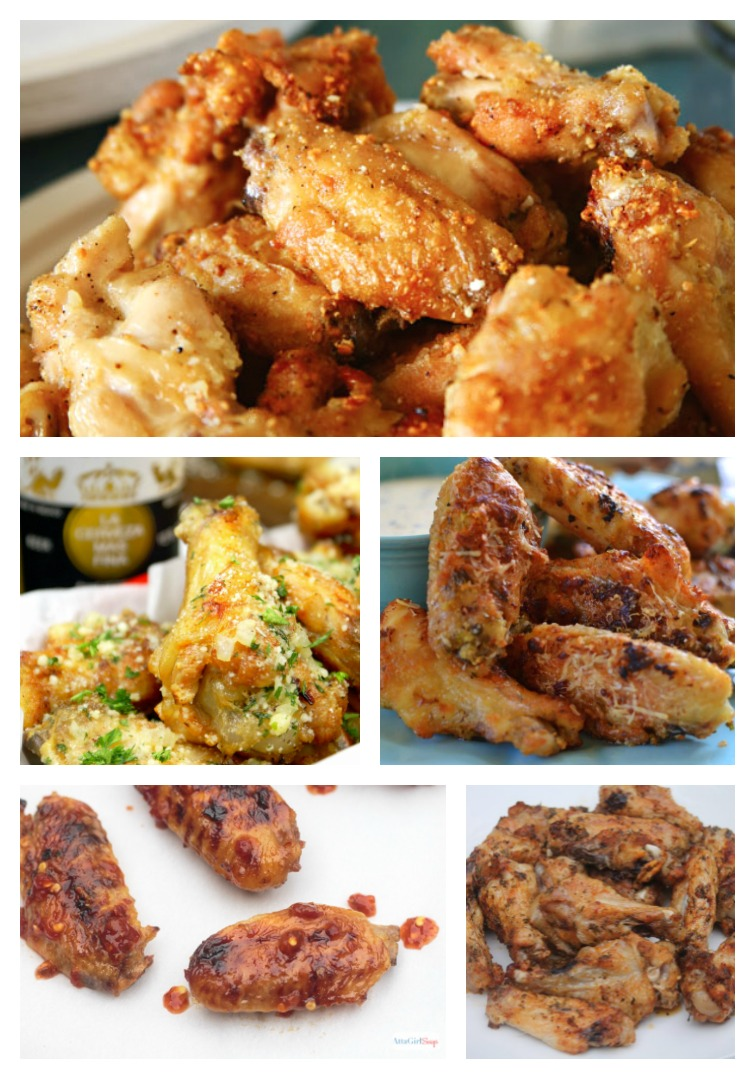 Italian Chicken Wing Recipes