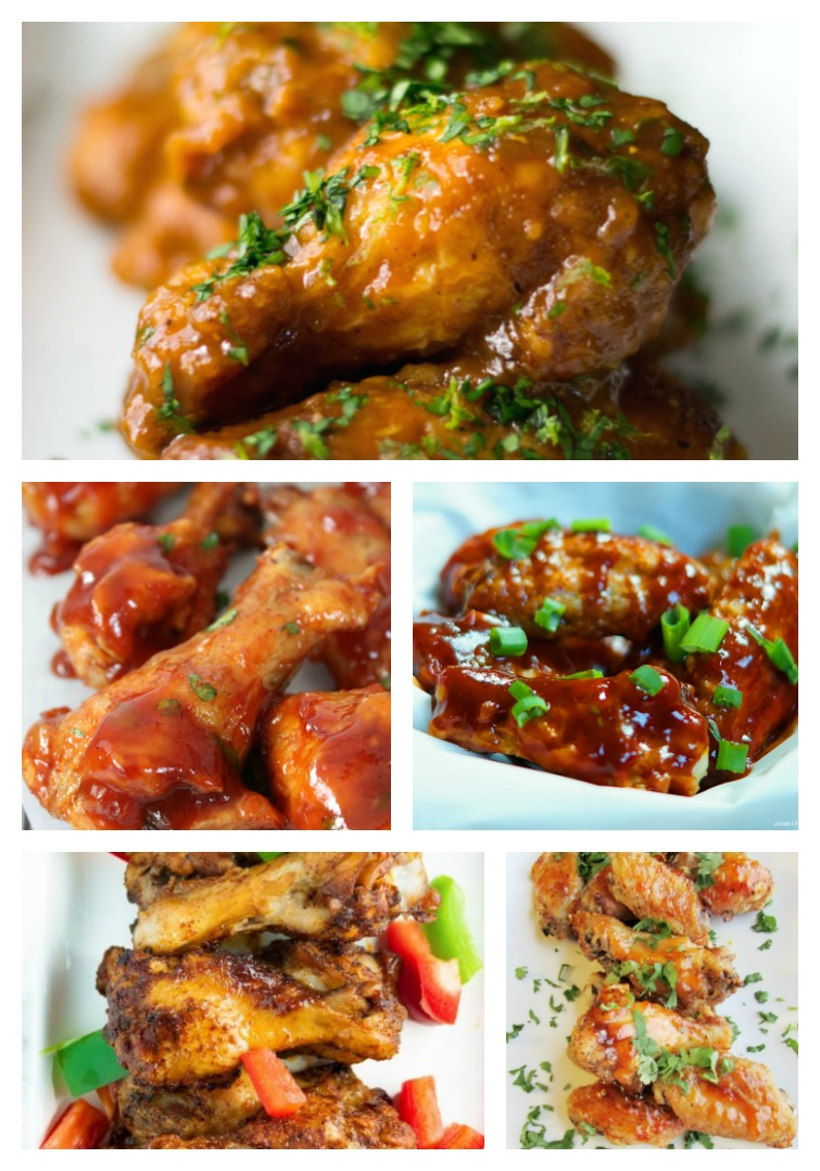 Southwest Chicken Wing Recipes