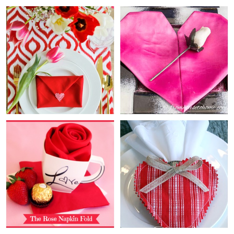 Valentine's Day Napkin Fold Ideas Atta Girl Says