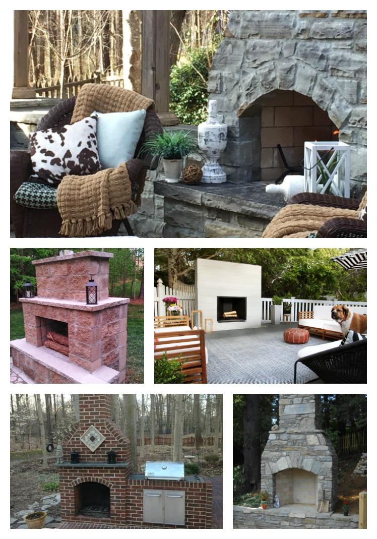 15 Stunning Outdoor Fireplace Ideas Atta Girl Says