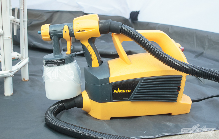 Wagner FLEXiO spaint sprayer