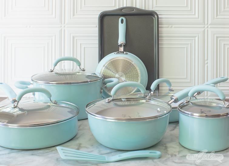 Rachael Ray Create Delicious cookware set