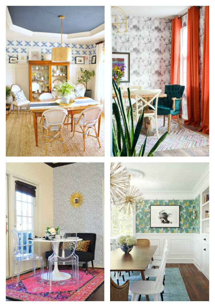 Dining Room Decorating Ideas With Wallpaper Atta Girl Says