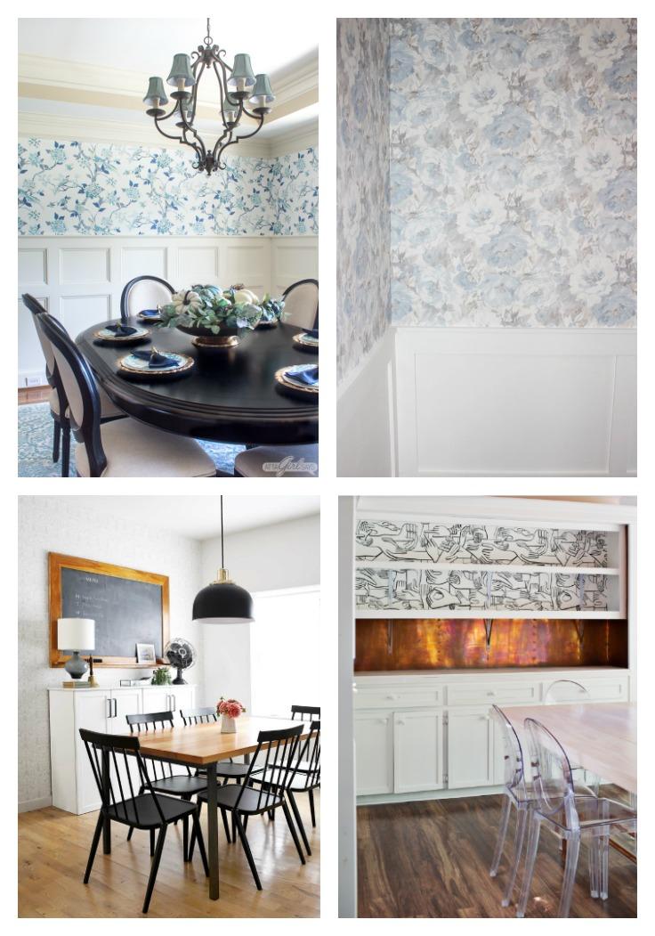 Dining Room Wallpaper Decorating Ideas