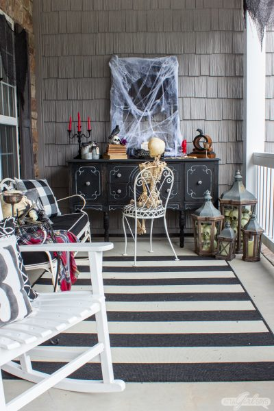 Front Porch Halloween Decorations Inspired by Your Favorite Spooky Stories