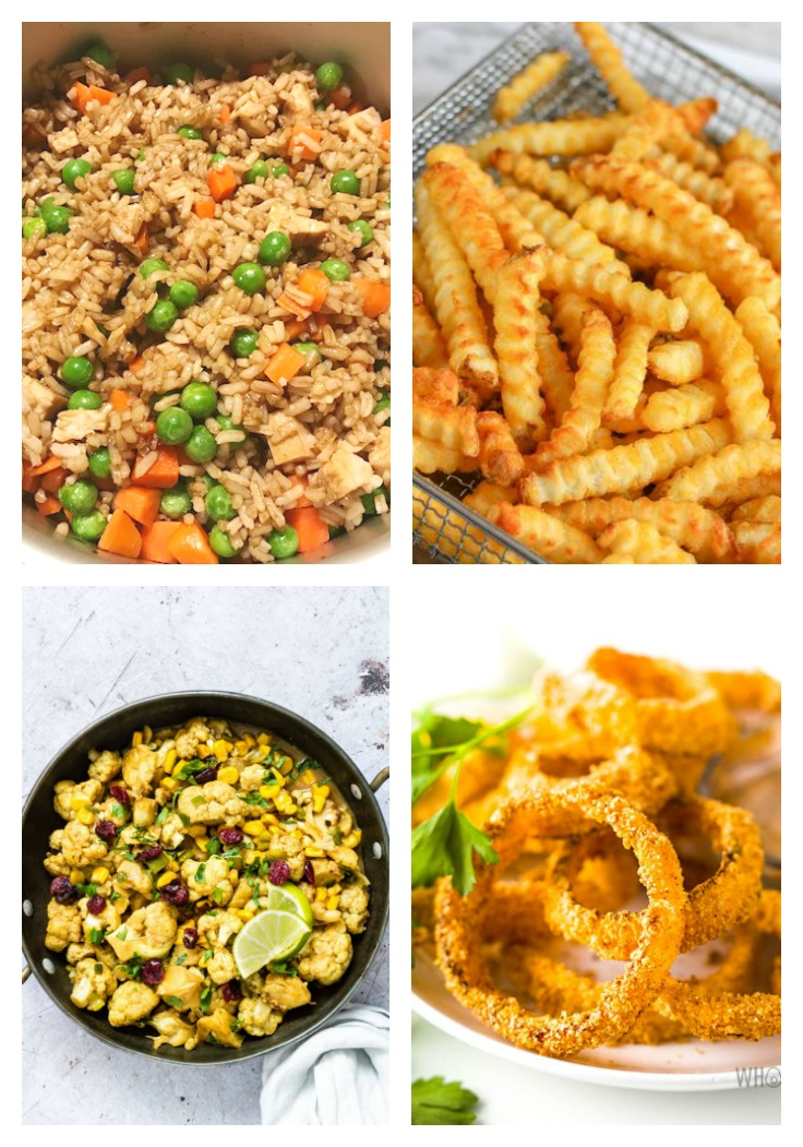 sides made in the air fryer