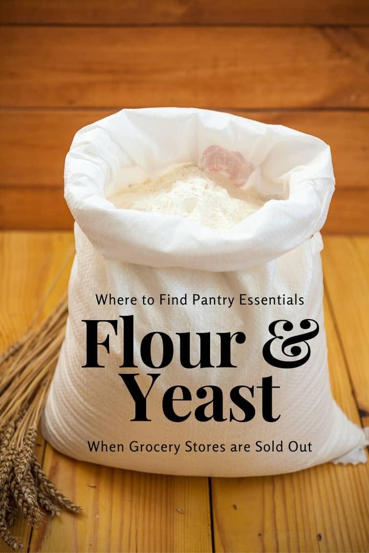 bag of flour with a text overlay