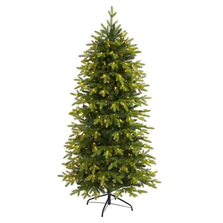 artificial 6-foot Christmas tree from Nearly Natural