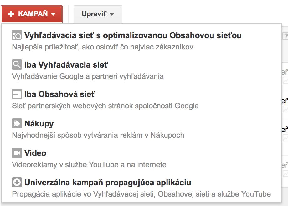 reklamné siete Google