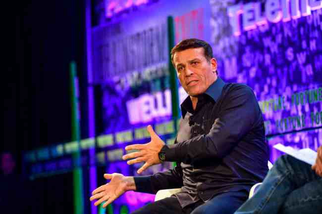 Tony Robbins le plus grand coach international