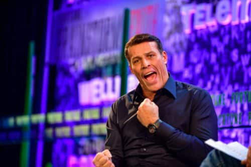 Le priming avec Anthony Robbins