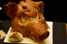 Roasted Pig Head