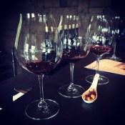 Wine flight, Dundee, OR