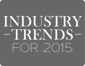 Industry trends for 2015