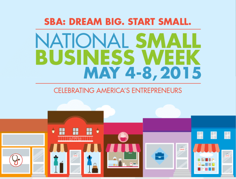 national small business week 2015