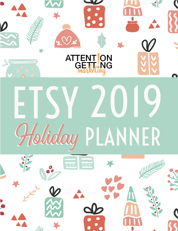 Etsy Holiday Planner How to Etsy How to Sell on Etsy