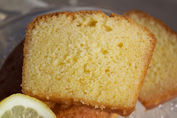 Cake au citron imbibé