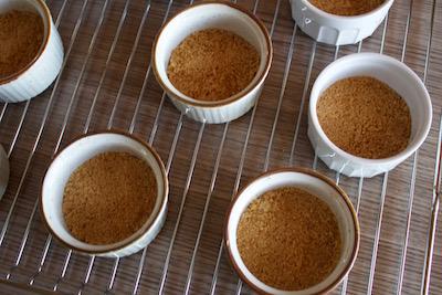 Cheesecake en cocotte au coulis passion
