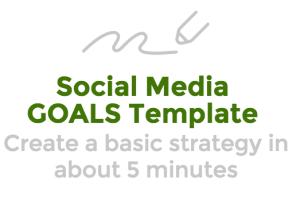 Social Media Goals\ Template