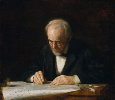 Eakins, The Writing Master