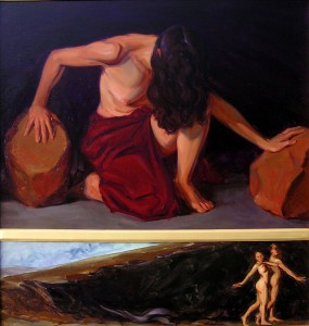Hecate, Expulsion (Diptych)