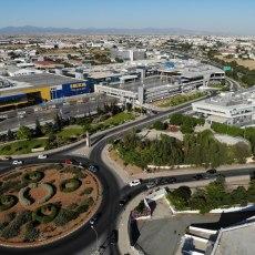 Mall aerial 25