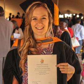 Danieka de Bruyn – BA Inligtingsontwerp, UP 2016