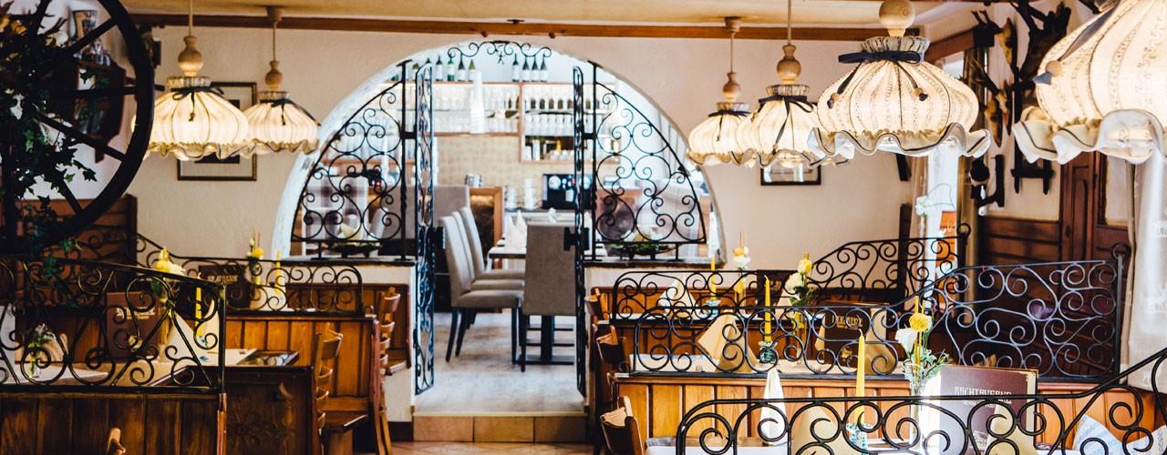 Restaurant-Bachtaverne-am-Attersee: Gaststube