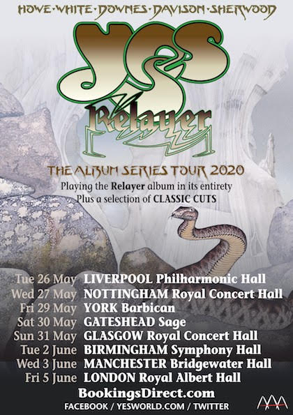 yes tour 2020