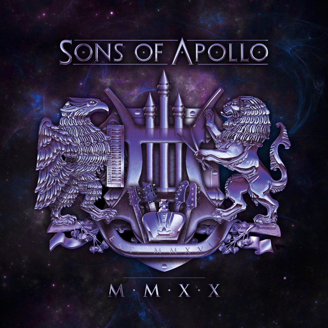 sons of apollo MMXX Album_Cover