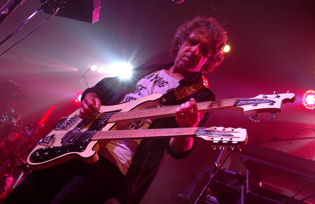 pete trewavas of Marillion - manchester 2012