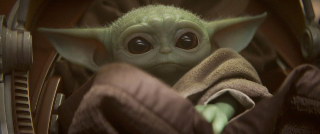 For Unto Us A Baby Yoda Is Born The Cool Table