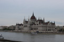 Parliament building by Danube
