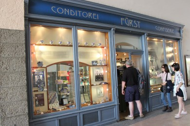 Confectionary Fürst is known as the inventor of Mozartkugels