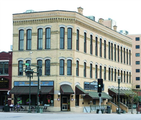 The Landmark Center, once the home of Hotel Clair, the Clair Lounge, and Clair Lanes, has been restored to its 1874 grandeur. In 1990 it was placed on the National Registrar of Historic Places.