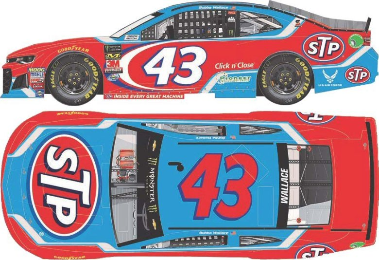 Bubba Wallace Jr 2018 STP 1:24 Nascar Diecast Car - At The Track Racing Collectibles