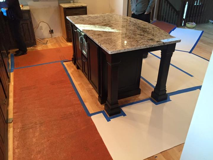 Different types of countertop for your kitchen or bathroom