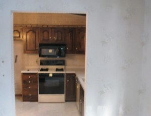 Before remodeling this kitchen in Andover, MN