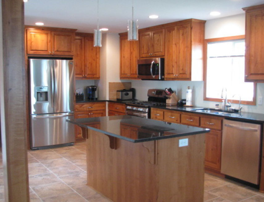 custom kitchen remodel in Blaine, MN