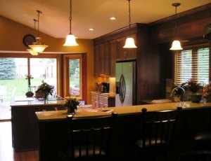 After - Kitchen remodel - Split Level home