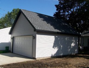 St. Louis Park two car garage contractor