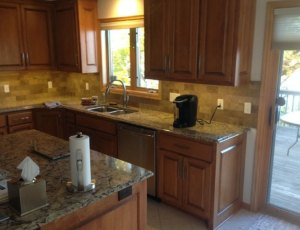 After Remodel of a kitchen in Plymouth, MN