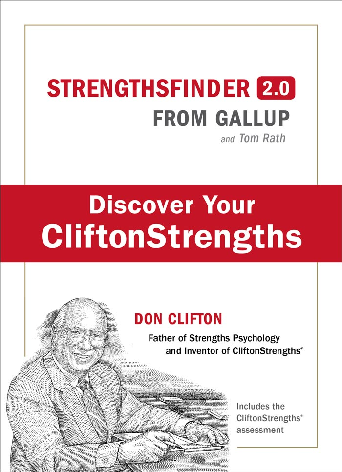 The StrengthsFinder online assessment is an excellent tool for discovering an employee's top five strengths.