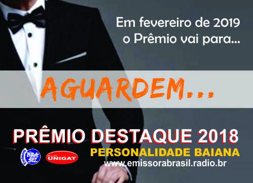 Solenidade de Entrega do Prêmio Destaque 2018