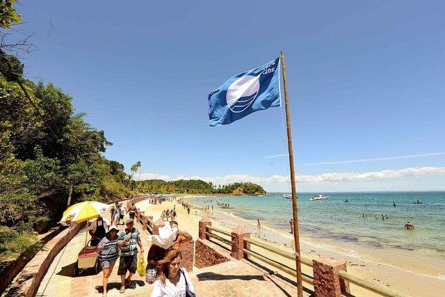 Única praia da Bahia recebe Selo Internacional