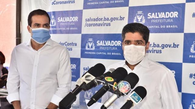 PREFEITURA VAI MULTAR MOTORISTAS QUE CIRCULAREM SEM MÁSCARAS POR SALVADOR